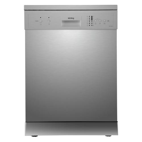 Посудомоечная машина KORTING KDF 60240 S, полноразмерная, серебристая