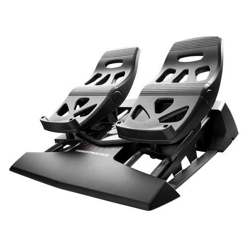 Авиа-педали проводной THRUSTMASTER Rudder черный [thr37] цена и фото