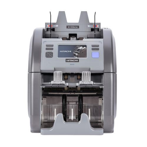 Счетчик банкнот Hitachi iH-110 автоматический мультивалюта цена и фото