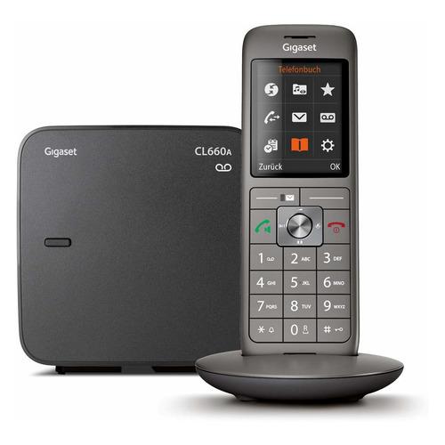 Радиотелефон GIGASET CL660A, черный радиотелефон