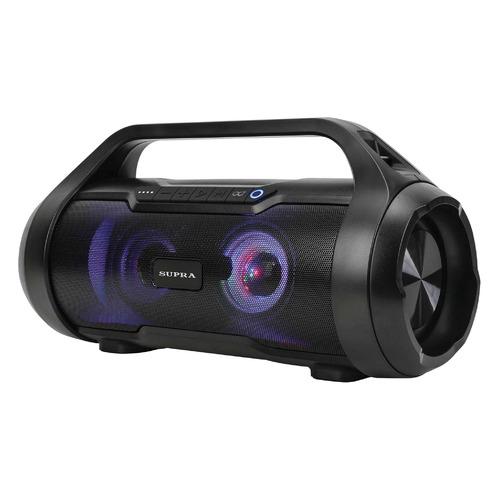 лучшая цена Аудиомагнитола SUPRA BTS-680, черный
