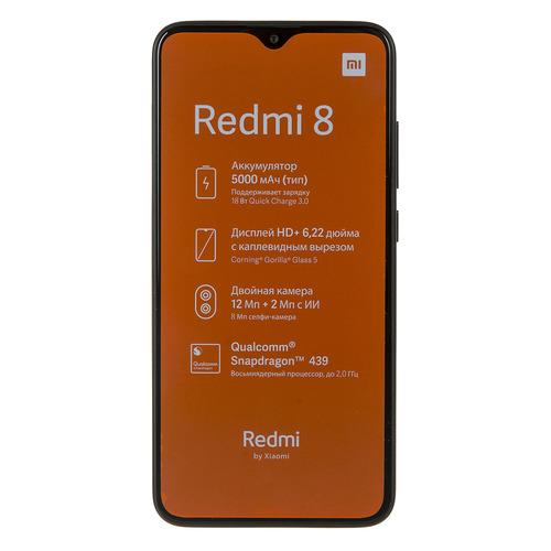 Смартфон XIAOMI Redmi 8 64Gb, черный 25484