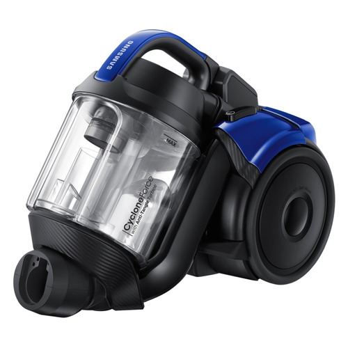 Пылесос SAMSUNG VC21K5136VB/EV, 2100Вт, синий/черный пылесос samsung vc18m21a0sb ev 1800вт синий