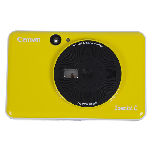 Фото - Цифровой фотоаппарат CANON Zoemini C, желтый фотоаппарат моментальной печати canon zoemini c цвет морской волны