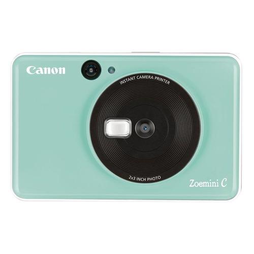 Фото - Цифровой фотоаппарат CANON Zoemini C, зеленый карманный принтер canon zoemini pv123 whs exp белый