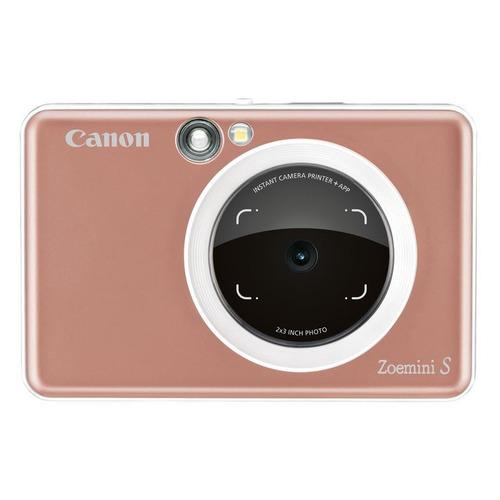 Фото - Цифровой фотоаппарат CANON Zoemini S, розовый карманный принтер canon zoemini pv123 whs exp белый