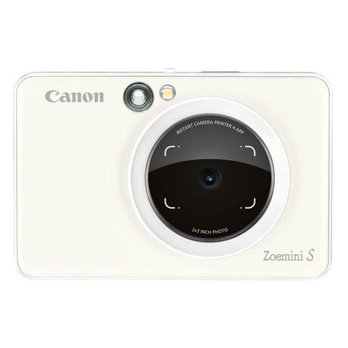 Фото - Цифровой фотоаппарат CANON Zoemini S, белый карманный принтер canon zoemini pv123 whs exp белый