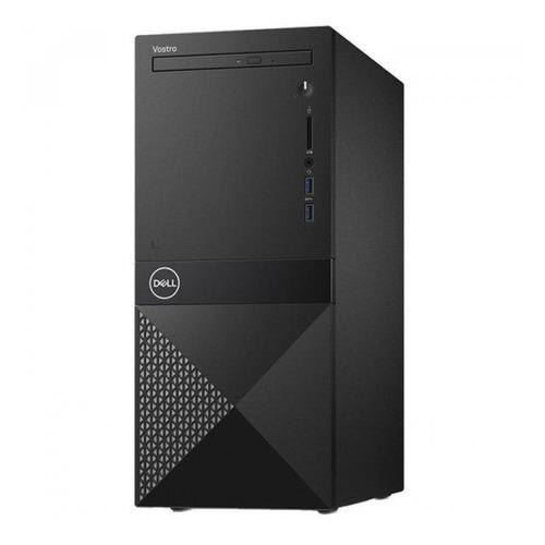 Компьютер DELL Vostro 3671, Intel Core i5 9400, DDR4 8Гб, 256Гб(SSD), Intel UHD Graphics 630, DVD-RW, CR, Linux Ubuntu, черный [3671-2769] компьютер