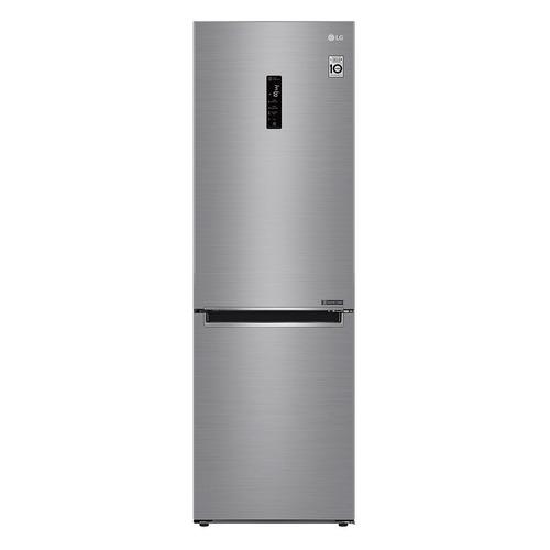 лучшая цена Холодильник LG GA-B459MMDZ, двухкамерный, серебристый