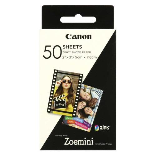 цена на Набор для печати Canon ZP-2030/50 3215C002/50л./белый для сублимационных принтеров