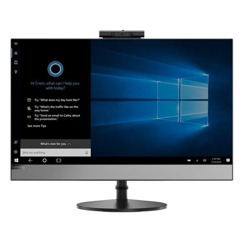 Фото - Моноблок LENOVO V530-24ICB, 23.8, Intel Core i5 9400T, 4ГБ, 256ГБ SSD, Intel UHD Graphics 630, DVD-RW, Windows 10 Professional, черный [10uw00dpru] моноблок lenovo v530 22icb 21 5 intel core i5 9400t 8гб 256гб ssd intel uhd graphics 630 dvd rw windows 10 professional черный [10us00j5ru]
