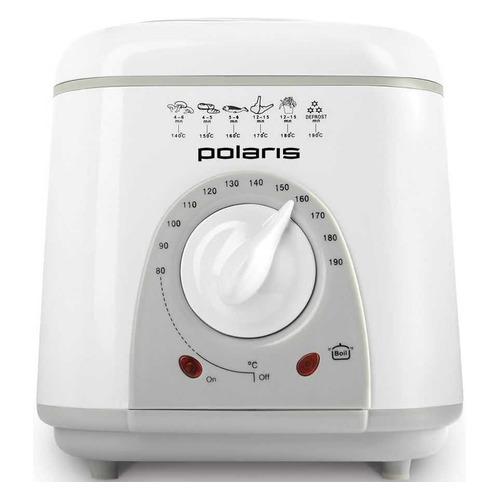 Фритюрница POLARIS POF 1002, белый/серый