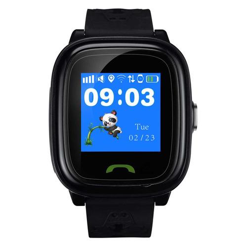 Смарт-часы CANYON CNE-KW51BB, 1.22, черный / черный цена