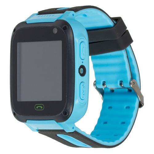 Смарт-часы CANYON CNE-KW21BL, 1.44, черный/синий / черный/синий цена