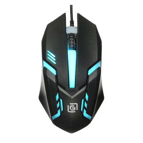 цена на Мышь OKLICK 396M INSOMNIA, игровая, оптическая, проводная, USB, черный
