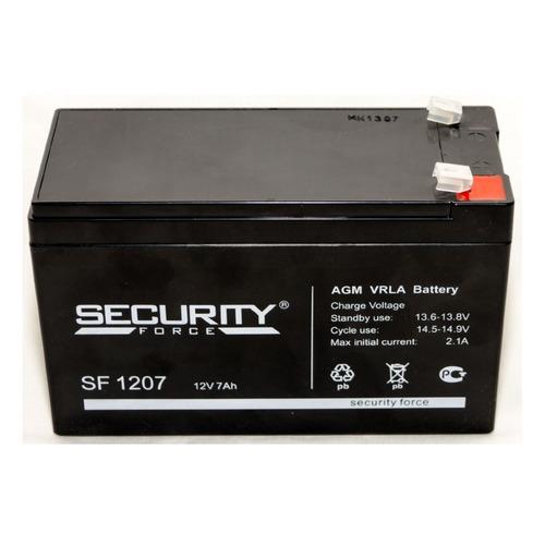Аккумулятор Security Force SF 1207 аккумулятор security force security alarm акб 7 sf 1207