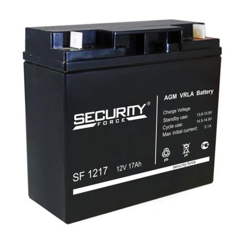 Аккумулятор Security Force SF 1217 аккумулятор security force security alarm акб 7 sf 1207
