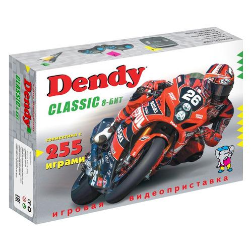цена на Игровая консоль DENDY 255 игр, Classic 8bit, черный