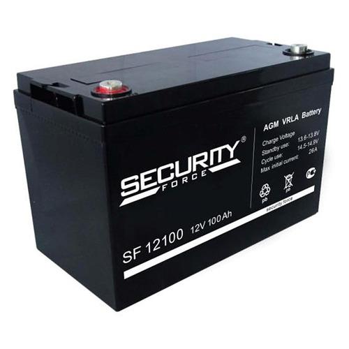 Аккумулятор Security Force SF 12100 аккумулятор security force security alarm акб 7 sf 1207