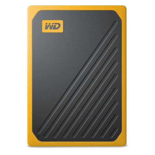 Фото - Внешний диск SSD WD My Passport Go WDBMCG0010BYT-WESN, 1ТБ, черный внешний жесткий диск 2 5 3tb wd black p10 game drive for xbox wdba5g0030bbk wesn usb3 0 черный