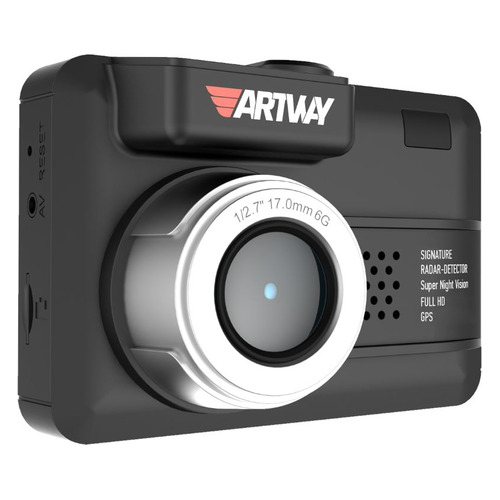Видеорегистратор с радар-детектором ARTWAY MD-107, GPS