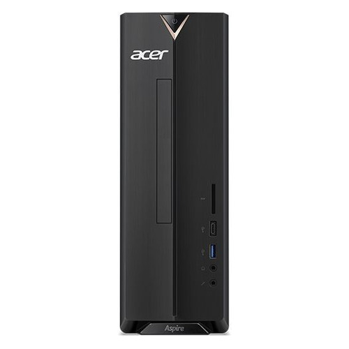 Компьютер ACER Aspire XC-886, Intel Core i3 9100, DDR4 8Гб, 256Гб(SSD), Intel UHD Graphics 630, Windows 10, черный [dt.bdder.01h] компьютер