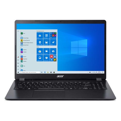 Ноутбук ACER Aspire 3 A315-56-55JG, 15.6, Intel Core i5 1035G1 1ГГц, 8ГБ, 512ГБ SSD, Intel UHD Graphics , Windows 10, NX.HS5ER.003, черный ноутбук acer aspire 3 a315 56 31tb 15 6 intel core i3 1005g1 1 2ггц 4гб 128гб ssd intel uhd graphics windows 10 nx hs5er 00n черный