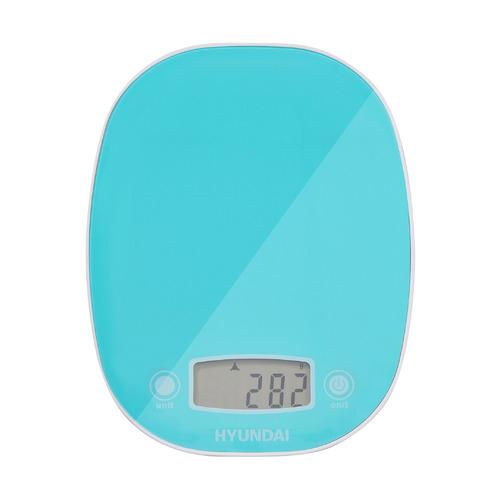 Весы кухонные HYUNDAI HYS-KA511, бирюзовый