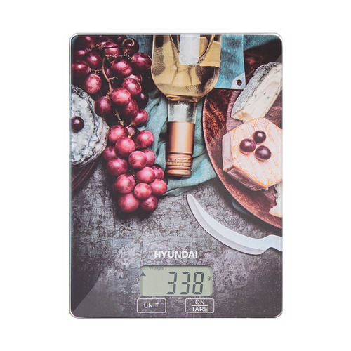 Весы кухонные HYUNDAI HYS-KG221, рисунок
