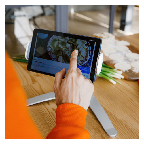 Фото - Подставка HAMA для планшетных компьютеров, серебристый [00182580] подставка hama travel для планшетных компьютеров [00107874]