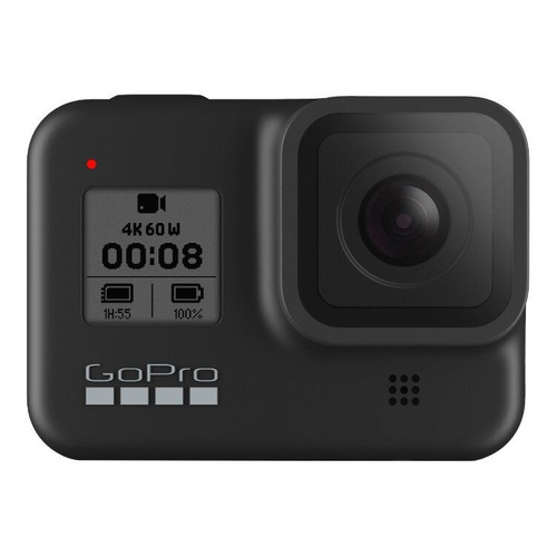 Экшн-камера GOPRO HERO8 Black Edition (монопод), 4K, WiFi, черный [chdhx-801-rw]
