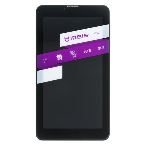 Планшет IRBIS TZ721e, 1GB, 16GB, 3G, Android 7.0 черный планшет irbis tz731 7 8gb черный wi fi bluetooth 3g android
