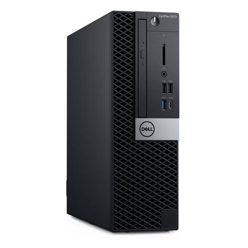 Компьютер DELL Optiplex 5070, Intel Core i5 9500, DDR4 8ГБ, 256ГБ(SSD), Intel UHD Graphics 630, DVD-RW, Linux Ubuntu, черный [5070-1984] компьютер dell vostro 3471 intel core i5 9400 ddr4 8гб 256гб ssd intel uhd graphics 630 dvd rw cr ubuntu черный [3471 9157]