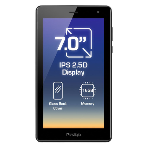 Фото - Планшет PRESTIGIO Grace 4327 3G, 1GB, 16GB, 3G, Android 8.1 черный [tt1pmt43273gdru] планшет prestigio wize 4227 3g dark grey pmt42273gcru spreadtrum sc7731e 1 3 ghz 1024mb 8gb 3g wi fi bluetooth cam 7 0 1024x600 android