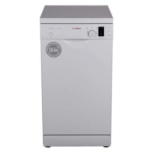 Посудомоечная машина BOSCH SPS25DW04R, узкая, белая