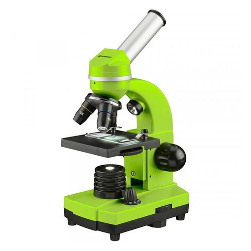 Микроскоп Bresser Junior Biolux SEL монокуляр 40-1600x на 3 объектива зеленый