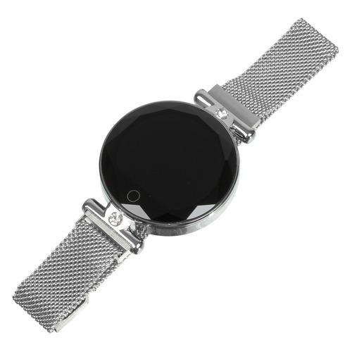 Смарт-часы SMARTERRA SmartLife Vega, 1.08, серебристый / серебристый [smlvegas] часы smarterra smartlife vega