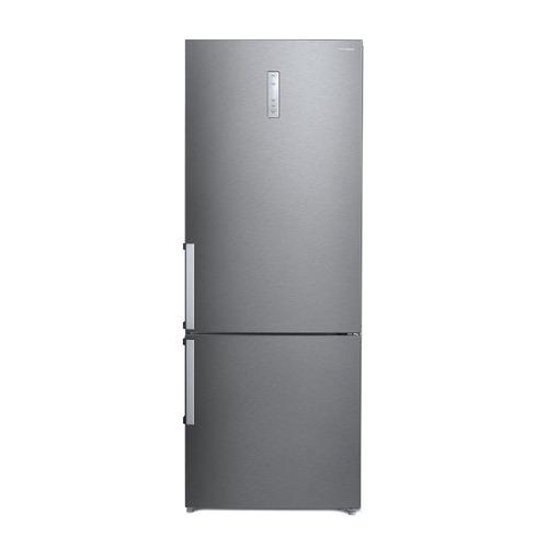 Холодильник HYUNDAI CC4553F, двухкамерный, нержавеющая сталь