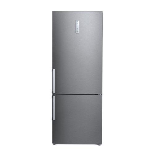Холодильник HYUNDAI CC4553F, двухкамерный, черная сталь
