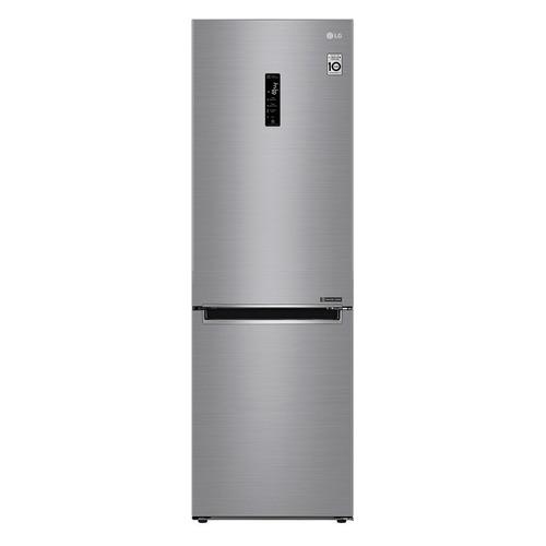 лучшая цена Холодильник LG GA-B459MMQZ, двухкамерный, серебристый