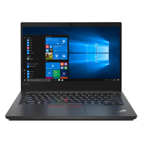 Ноутбук LENOVO ThinkPad E14-IML T, 14, IPS, Intel Core i7 10510U 1.8ГГц, 8ГБ, 256ГБ SSD, Intel UHD Graphics , Windows 10 Professional, 20RA001HRT, черный ноутбук lenovo thinkpad e14 20ra001brt core i7 10510u 1 8 16gb 512gb ssd 14 fhd ips uhd graphics win 10 pro black