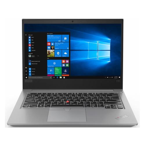 Ноутбук LENOVO ThinkPad E14-IML T, 14, IPS, Intel Core i7 10510U 1.8ГГц, 8ГБ, 256ГБ SSD, Intel UHD Graphics , Windows 10 Professional, 20RA001CRT, серебристый ноутбук lenovo thinkpad e14 20ra001brt core i7 10510u 1 8 16gb 512gb ssd 14 fhd ips uhd graphics win 10 pro black
