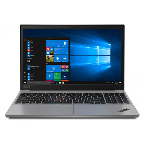 "Ноутбук LENOVO ThinkPad E15-IML T, 15.6"", IPS, Intel Core i5 10210U 1.6ГГц, 8ГБ, 256ГБ SSD, Intel UHD Graphics , Windows 10 Professional, 20RD001GRT, серебристый"