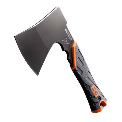 Топор Gerber Bear Grylls Hatchet черный/оранжевый (в компл.:чехол-ножны) (1014063) gerber bear grylls hatchet