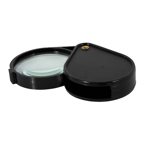 Упаковка луп SILWERHOF x6, 50мм, складная, черный, коробка [671109] 12 шт./кор. упаковка лезвий silwerhof 461004 коробка пластиковая 10 шт кор