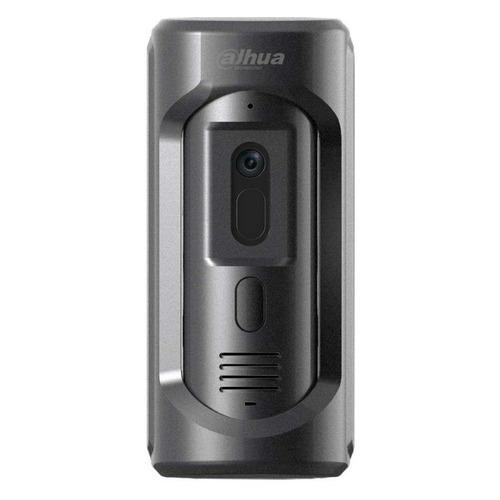 цена Видеопанель DAHUA DHI-VTO2101E-P, цветная, накладная, серый онлайн в 2017 году