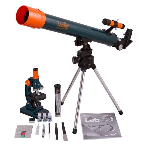 лучшая цена Набор оптических приборов Levenhuk LabZZ MT2 (69299)