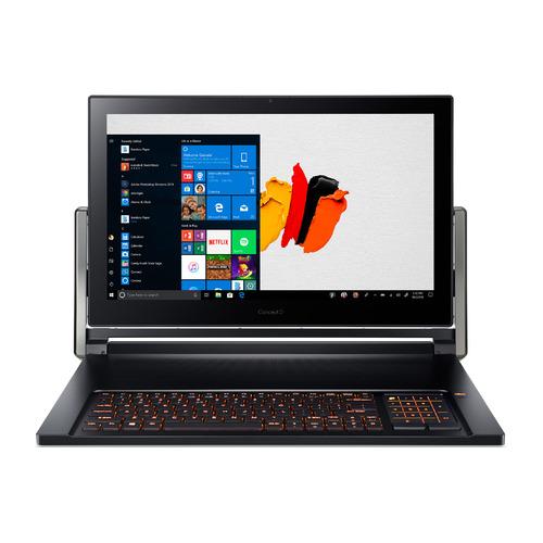 "Ноутбук-трансформер ACER ConceptD 9 CN917-71-964C, 17.3"", IPS, Intel Core i9 9980HK 2.4ГГц, 32ГБ, 1ТБ + 1ТБ SSD, nVidia GeForce RTX 2080 - 8192 Мб, Windows 10 Professional, NX.C4LER.003, черный"