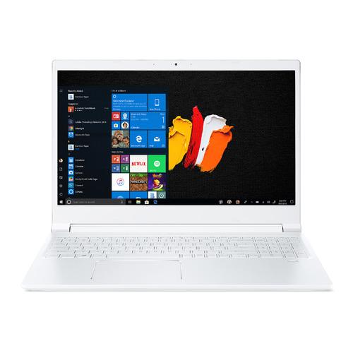 "Ноутбук ACER ConceptD 3 CN315-71-76T2, 15.6"", IPS, Intel Core i7 9750H 2.6ГГц, 16ГБ, 1ТБ SSD, nVidia GeForce GTX 1650 - 4096 Мб, Windows 10 Professional, NX.C57ER.001, белый"
