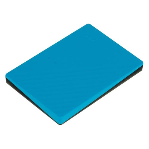 Фото - Внешний диск HDD WD My Passport WDBYVG0020BBL-WESN, 2ТБ, голубой внешний жесткий диск hdd western digital wdbyvg0020bbl wesn blue usb3 2tb ext 2 5